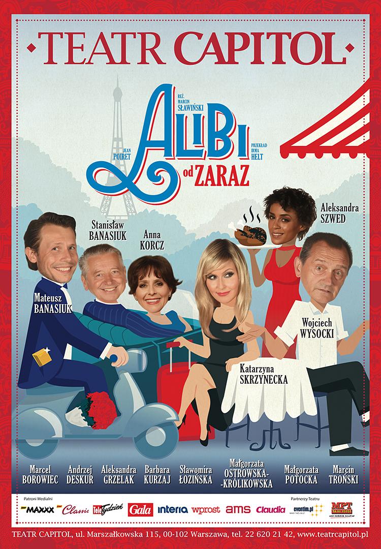 Alibi Od Zaraz Teatr Capitol Warszawa